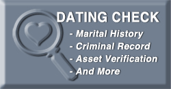Dating Background Check
