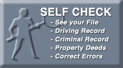 Self Background Check